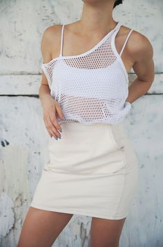 Fully Netted: In Which Karla of Karla's Closet Ups The Saturday Afternoon Style Game. | Blog | The Fix