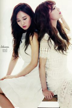 OMONA THEY DIDNT! Endless charms, endless possibilities ♥ - YURI AND SOOYOUNG FOR THE STAR MAGAZINE