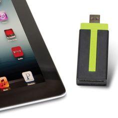 The Wireless iPad USB Flash Drive - Hammacher Schlemmer