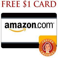 Free $1 Amazon Gift Card