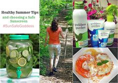 Some easy tips to help you have a safe and healthy summer.  #ad #SunSafeGoddess
