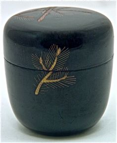 Japanese Lacquer Tea Ceremony Caddy | Natsume | Showa | Mingei Arts