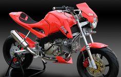 Motorcycle Icon, Honda, Minibike, Mopeds, Bikers, Madness, Monkey, Street, Design