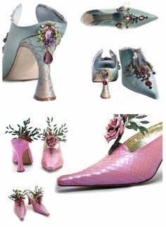 Marie Antoinette shoes!
