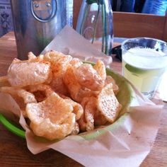 Chiccarones - Mexican pork scratchings to you and me