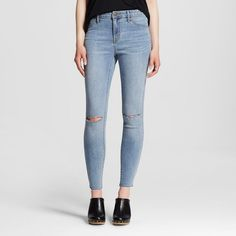 Women's High-rise Jegging Light Wash