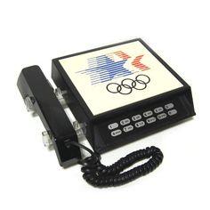 vintage1980 レークドオリンピック アメリカテレフォン・電話機 - ヤフオク!