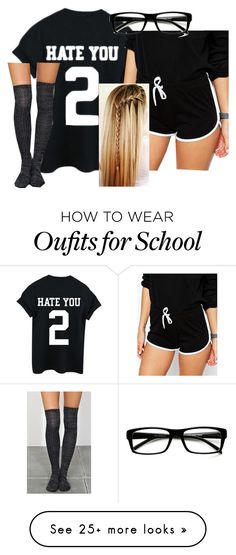 """""""so, baby, i will wait for you. 'cause i don't know what else i can do."""" by jaelynnrae on Polyvore featuring ASOS and ZeroUV"""