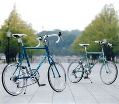 Cleanspeed Earl Grey.  One of these cool mini bicycle (mini velo) we can see in Tokyo.