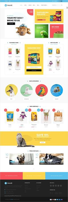 Ap Value is wonderful #Shopify #template for #pets #shop stunning eCommerce website with 3 multipurpose homepage layouts download now➩