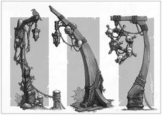 Pirate obj Picture  (2d, architecture, fantasy, skulls)