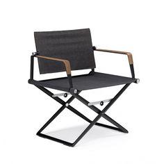 Dedon SeaX Sessel klappbar, Textil