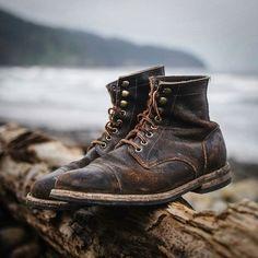 walletsandwhiskey Beautifully worn Oak Street is part of Shoes mens - walletsandwhiskey Beautifully worn Oak Street Botas Red Wing, Red Wing Boots, White Boots, Men's Boots, Best Shoes For Men, Men S Shoes, Oxfords, Leather Men, Leather Boots