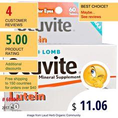Bausch & Lomb Ocuvite #Antioxidants #Lutein #EyeVisionCare #BauschLombOcuvite