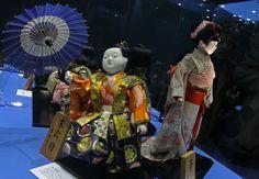 """Muestra """"Muñecas del Japón"""" que se presenta en el Museo de Etnografía y Folklore (Musef) de la ciudad de La Paz. EFE"""