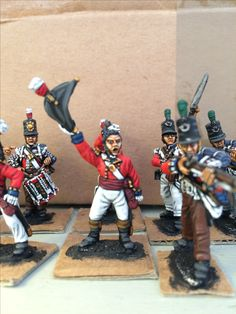 Napoleonic British Foot Guards by Front Rank, painted by Paul Downton