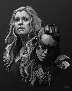 Clarke & Lexa #clexa