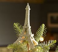 Pottery Barn - German Glass Eiffel Tower Tree Topper - 19.00