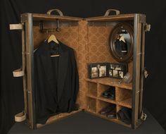 steamer wardrobe trunk - Google Search