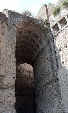 Palace of Severus on Palatine Hill, Rome