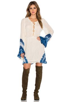 JEN'S PIRATE BOOTY Running Stream Mini DRESS Crochet Lace Tie Dye SMALL NEW $193 #JensPirateBooty #Coachella #FestivalWear #Fashion #Chic #MiniDress #Dress SOLD BY: www.A1SHOW.com
