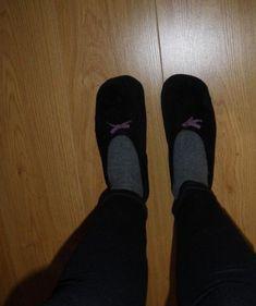 Coudre des chaussons chaussettes récup !