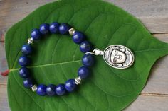Lapis Boedha Bracelet door EASTERNSOULS op Etsy