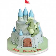 Dragons Castle Cake