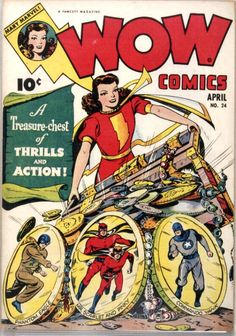 comic wow comics 24 #comic #cover #art