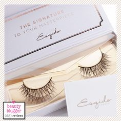Esqido Mink Lashes in Oh So Sweet.  I like these. If only I knew how to apply them.