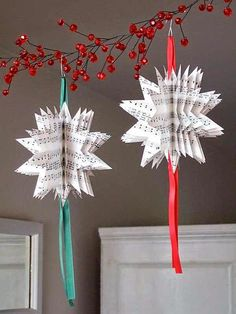 Easy DIY Christmas Decorations 2015