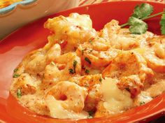 Chipotle Shrimp with Rice with Cacique Manchego and Crema   Cacique USA