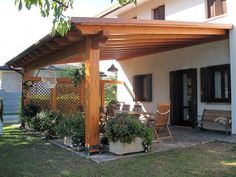 The pergola kits are the easiest and quickest way to build a garden pergola. There are lots of do it yourself pergola kits available to you so that anyone could easily put them together to construct a new structure at their backyard. Curved Pergola, Small Pergola, Pergola Canopy, Pergola Attached To House, Deck With Pergola, Outdoor Pergola, Wooden Pergola, Covered Pergola, Backyard Pergola