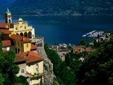 Ticino, CH - Tranquility and Mediterranean flare where you least expect it.  I could most definitely live here...forever.