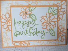 Stampin mit Scraproomboom - Stampin' Up! - Watercolor Words