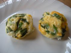 Another muffin tin idea from The Road to a Full Tummy: