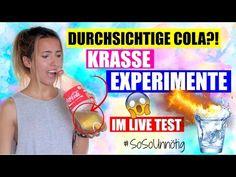 DIY HACK DURCHSICHTIGE COLA TESTEN |Damit überraschst du JEDEN! |#SoSoUnnötig - YouTube