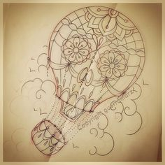 hot air balloon tattoos meaning - Google Search