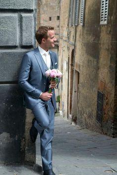Voor de bruidegom met een beeeeetje meer lef (also nice shoes)