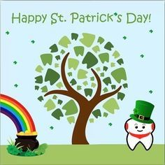 Happy St. Patrick's Day from all of us at Dr Camps Pediatric Dental Center!