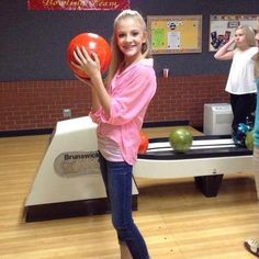 I am so glad she can have time to go bowling and be a kid. Dance is great but she deserves to also be a kid and have fun