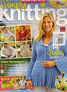 Ravelry: Simply Knitting 45, September 2008