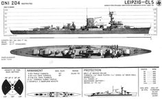 [Photo] Recognition drawing for German light cruiser Leipzig, published by US Division of Naval Intelligence, Aug 1942 Navy Coast Guard, Naval Intelligence, Heavy Cruiser, Capital Ship, Naval History, Navy Ships, World War One, Navy, Boats