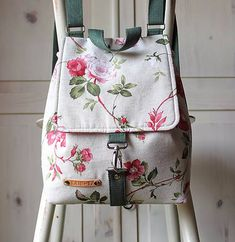 Leather Backpack, Leather Bag, Mochila Jeans, Sweet Bags, Designer Backpacks, Fabric Bags, Kids Bags, Diaper Bag, Creations
