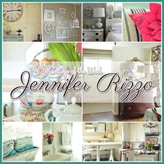 It's time to grab yourself a cup of something yummy and take time to sit back and enjoy a wonderful Cottage of the Week starring the the cozy and loving home of Jennifer Rizzo You are all in for a treat. Before we knock on the door I would like to have Jennifer introduce herself …