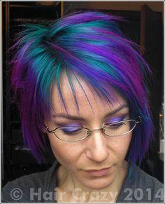 Directions — Alpine Green Crazy Color — Cyclamen Crazy Color — Hot Purple Directions — Turquoise