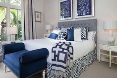 Guest room.  The Enchanted Home: Designer Spotlight: Joy Tribout