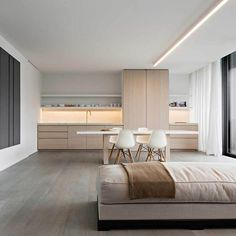 Designed by the renown master craftsmen and interiordesign team at Obumex,this Bruges basedapartment inBelgiumis the epitome of a minimalistic, timeless… Read More #MinimalistinteriorApartment