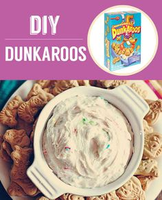 Homemade Dunkaroos | 27 Classic Snacks Youll Never Have To Buy Again #dessert #recipe #treat #recipes #sweet