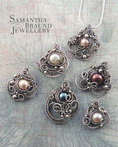 Bridal Coral Drops by Samantha_Braund, via Flickr  http://www.samanthabraundjewellery.com/